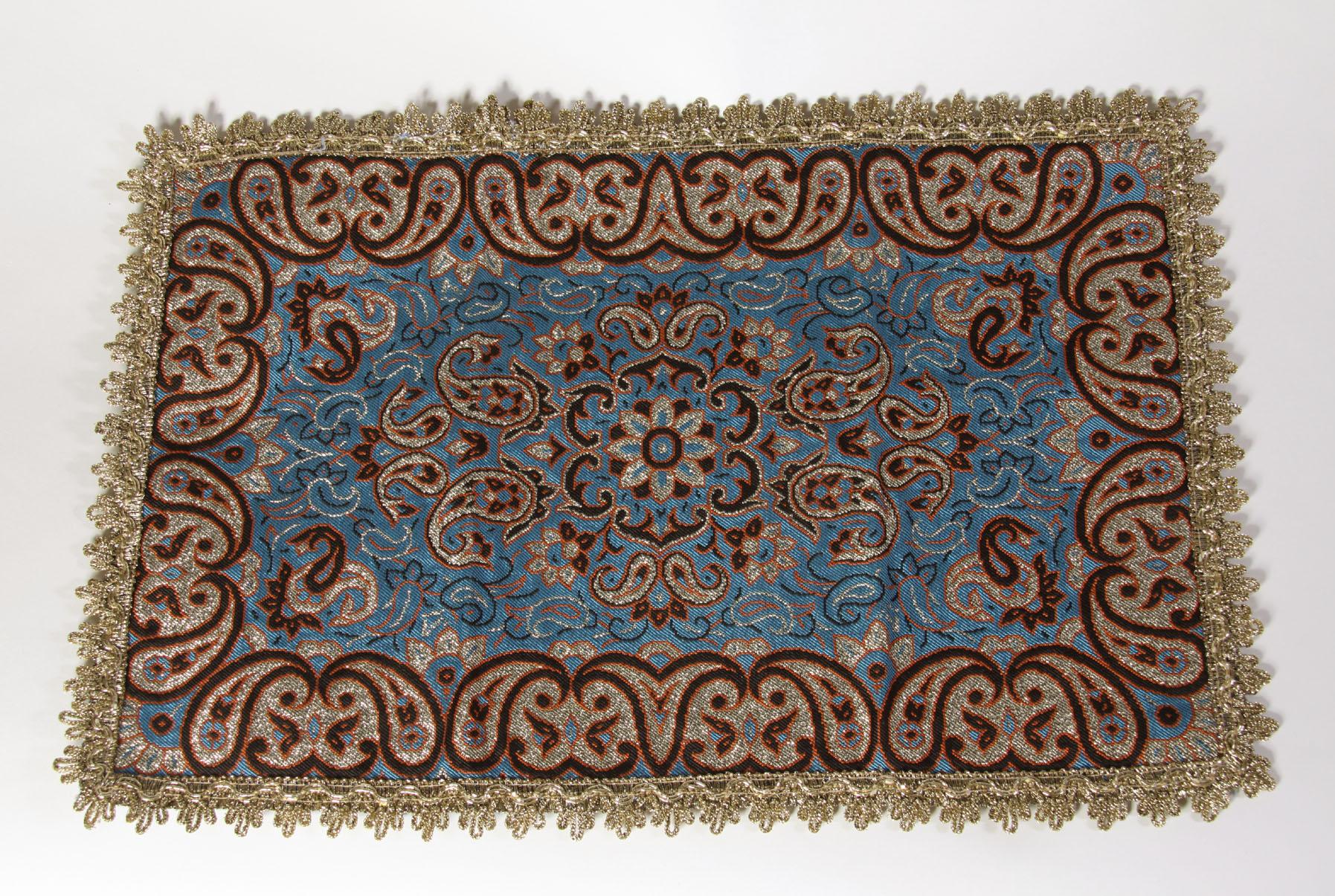 Gebetsteppich aus Yazd  Blau  Orient Shop  Mevlevihane