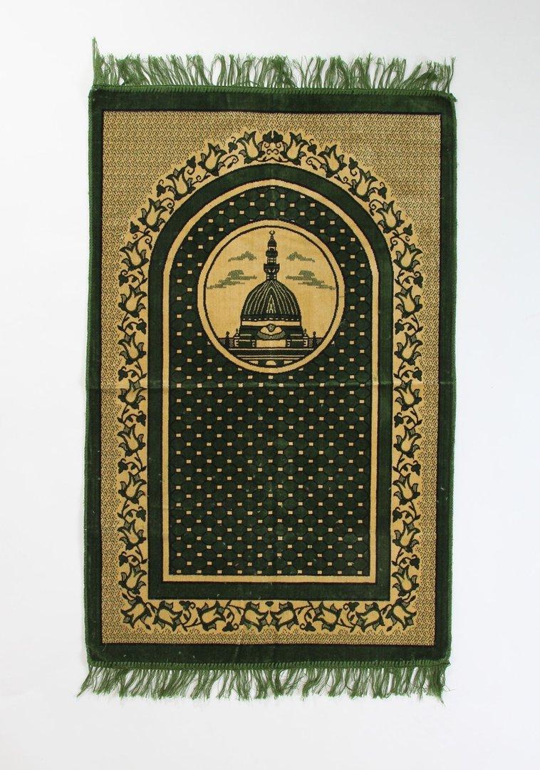 GebetsteppichSeccade Velour Grün  Orient Shop